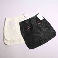 skirt Autumn of 2019 XS,S,M Black, white Other / other