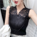 Vest sling Summer 2020 White black Average size singleton  routine Self cultivation commute other 25-29 years old 96% and above other Ji Lu Lace Other 100% Pure e-commerce (online only)