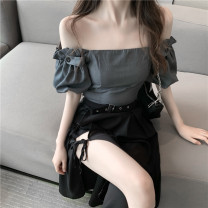 short coat Summer 2020 S M have cash less than that is registered in the accounts routine Two piece set Self cultivation commute 18-24 years old Philenkay 96% and above 1616# other Other 100% Pure e-commerce (online only)
