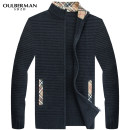 T-shirt / sweater Fashion City routine Cardigan stand collar Long sleeves autumn easy 2016 leisure time American leisure youth routine Solid color Autumn 2016 No iron treatment Fine wool (16 and 14 stitches) Pure e-commerce (online only) jacquard weave