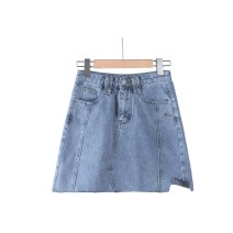 skirt Spring 2021 S,M,L wathet Short skirt commute A-line skirt 25-29 years old 71% (inclusive) - 80% (inclusive) other other Korean version