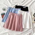 skirt Summer 2021 S M L XL White black blue pink Short skirt Versatile High waist Pleated skirt letter Type A 18-24 years old 040210C More than 95% other VV combination other Pleated zipper patch Other 100% Pure e-commerce (online only)