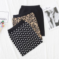 skirt 90cm,100cm,110cm,120cm,130cm,140cm,150cm,160cm Black, red, pink, decor, polka dot, coffee leopard, orange leopard, camel diamond, pink gold, off white gold, black and white, red and white Other / other female Cotton 100% spring and autumn skirt Korean version Dot other Class B