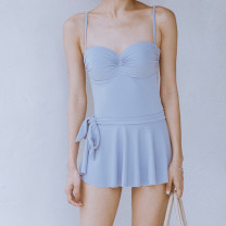 one piece  BEDIS M,L,XL blue Skirt one piece With chest pad without steel support other female