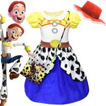 skirt 110cm,120cm,130cm,140cm,150cm 80103 + bag, 80103, bag average size, 80103 + mask, 80103 + hat, 80103 + mask bag, 80103 + mask hat, 80103 + mask hat bag Other / other female Other 100% summer Europe and America Cartoon animation Princess Dress Acetate fiber Class A