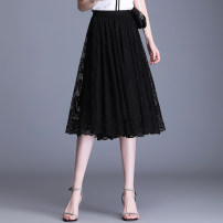 skirt Summer 2021 Average size 85-145 Jin Black short apricot short black long 101 apricot long skirt 101 black long skirt 102 apricot long skirt 102 longuette commute High waist A-line skirt Solid color Type A 25-29 years old 555OU88 More than 95% Lace AXm other Lace Other 100%