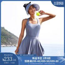 Sports dress T0096 female La Nikar XS (adult), s (adult), m (adult), l (adult) Spring 2021 Sleeveless camisole Crew neck nylon Sports & Leisure Sports life