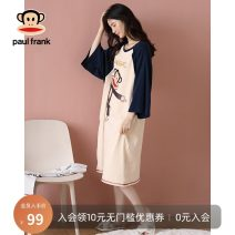 Nightdress Poetry of Schiff PFJOA203R56W PFJOA203R60W PFJOA203R62W M L XL XXL Sweet three quarter sleeve Leisure home Middle-skirt summer Cartoon animation youth Crew neck cotton printing More than 95% pure cotton PFJOA203R56W Autumn 2020 Cotton 100% Pure e-commerce (online only)