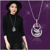 Necklace Alloy / silver / gold 10-19.99 yuan Other / other Style 2, style 3, style 6, style 7, style 9, style 10, style 11, style 12, style 13, style 14, style 15, style 16, style 17, style 19, style 21, style 22, style 24 brand new Japan and South Korea female goods in stock yes no nothing alloy