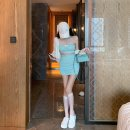 Fashion suit Summer 2021 S, M Mint Green 18-25 years old 31% (inclusive) - 50% (inclusive)
