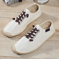 canvas shoe 39 40 41 42 43 44 45 No lacing Low Gang MR.insist X35 beige X35 black X35 moon Flat heel summer leisure time Netting rubber ventilation Solid color Adhesive shoes Youth (18-40 years old) Sewing Summer 2020 Pure e-commerce (online only) cloth