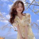 Women's large Summer 2021 canary yellow S M L XL singleton  commute Korean version Yuanti 18-24 years old Other 100% Pure e-commerce (online only)