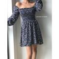 Dress Summer 2020 dark blue S,M,L