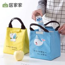 Lunch box bag Home D2421 Pink color and blue color grey color yellow color