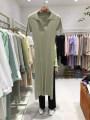 Dress Summer 2021 Army green, black S,M,L,XL longuette singleton  Short sleeve commute Socket routine 18-24 years old Korean version 51% (inclusive) - 70% (inclusive)