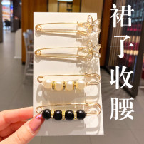 Brooch Alloy / silver / gold RMB 1.00-9.99 Pink Empress brand new goods in stock Japan and South Korea female Fresh out of the oven Not inlaid other M142802