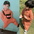 Jumpsuit / climbing suit / Khaki neutral cotton Feeling Chen Chen's mother other spring and autumn Long sleeve leisure time 12 months, 18 months, 2 years, 3 years old Black [Seiko in stock], cinnamon [Seiko in stock], Seiko in limited time buy one get two free, consult customer service