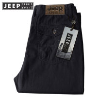 Casual pants Jeep / Jeep other Army green thin, khaki thin, black thin, gray thin, army green thick, khaki thick, black thick, gray thick 29,30,31,32,33,34,35,36,38,40,42 routine trousers Other leisure easy Micro bomb spring middle age Business Casual 2021 Medium high waist Straight cylinder Overalls