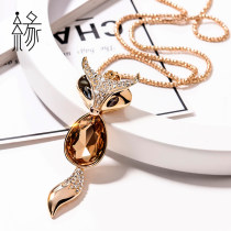 Necklace Alloy / Silver / Gold Yuan Princess 101-200 yuan X061-1 champagne gold x061-2 temptation black x53x56x057x058-1 sapphire blue x058-2 elegant white x062-1 phantom black x062-2 coffee gold x066 brand new Yes Europe and America Spot Female Network features alloy other Water wave chain X61 No No
