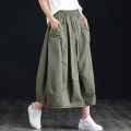skirt Spring 2021 XS S M L XL 2XL 3XL Black Khaki army green Mid length dress commute High waist A-line skirt Solid color Type A 18-24 years old WXY_ CH8911N1 More than 95% other Net fish cotton pocket Korean version Cotton 100% Pure e-commerce (online only)