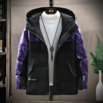 cotton-padded clothes Purple black Chisarel / chesare M L XL XXL XXXL Fashion City thickening Medium length easy Other leisure QSL20D0MDFS2113 Polyester 100% Hood youth zipper tide Straight hem Winter 2020 other Side seam pocket Exclusive payment of tmall No iron treatment other Coated fabric winter