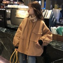 Cotton padded clothes Camel, dark grey, light apricot One size fits all, XXXs pre-sale Winter of 2019 Other / other routine Long sleeves thickening commute other Korean version 30% and below other other 18-24 years old