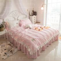 Bedding Set / four piece set / multi piece set Polyester (polyester fiber) Embroidery, quilting Others See details Other / other Others 4 pieces See details Bed skirt Princess style