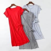 Dress Summer 2021 Red, black stripe, blue stripe S,M,L
