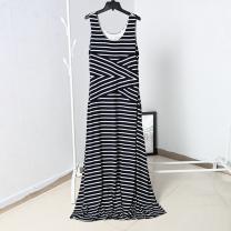 Dress Summer 2020 Dark Navy Stripe M,L,XL