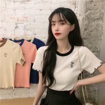 Wool knitwear Summer 2021 Average size Apricot, white, blue, pink, tail goods are sent randomly other More than 95% 18-24 years old