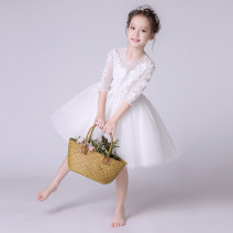 Children's dress female 110cm 120cm 130cm 140cm 150cm 160cm Twilight glass full dress H1L2B-L1128B-Z669.1WB Class B nylon Other 100% Spring of 2018 4 years old, 5 years old, 6 years old, 7 years old, 8 years old, 9 years old, 10 years old princess