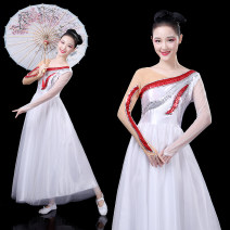 National costume / stage costume Fall 2017 white Customized contact customer service XS S M customized 4XL L XL XXL XXL customized 5XL 6xl Samoi / samoyi Other 100% Pure e-commerce (online only)