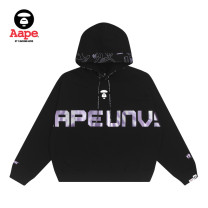 Sweater / sweater Winter 2020 BKX / Black XXS XS S 51% (inclusive) - 70% (inclusive) Aape cotton AAPSWW3760XXF Cotton 65% polyester 35% Same model in shopping mall (sold online and offline)