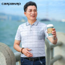 T-shirt Business gentleman routine 165/M 170/L 175/XL 180/2XL 185/3XL Cardano / Cardan Road Short sleeve Lapel standard Other leisure summer FLYD-7167 Other 100% old age routine Business Casual Cotton wool Summer 2021 stripe other other other No iron treatment International brands
