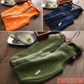 Vest neutral Blue, Navy, orange, army green, car blue, car Navy, car army green 110cm,120cm,130cm,140cm,150cm,160cm Other / other spring and autumn No model zipper cotton Cotton 100% 2, 3, 4, 5, 6, 7, 8, 9, 10, 11, 12 years old