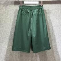 Jeans Winter 2016 Green, khaki, black S,M,L,XL High waist Thin money Other / other