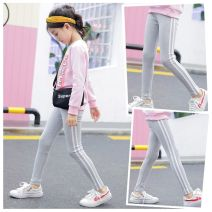 trousers Other / other female 90cm,100cm,110cm,120cm,130cm,140cm,150cm,160cm 323 black, 323 white, 323 royal blue, 323 gray, 6066 black, 6066 royal blue, 6065 black, 6065 royal blue, 6065 gray spring and autumn trousers motion There are models in the real shooting Sports pants Leather belt cotton