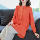 Women's large Winter 2020 M L XL 2XL 3XL Other oversize styles Two piece set commute easy moderate Cardigan Short sleeve Korean version stand collar Medium length Three dimensional cutting routine Fine posture 40-49 years old Other 100% Ninth pants