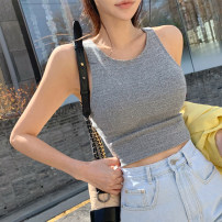 Vest sling Summer of 2019 Gray, black One size fits all - book, one size fits all - stock have cash less than that is registered in the accounts