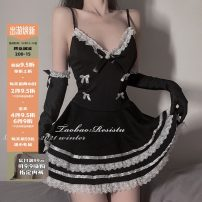 Cosplay women's wear skirt goods in stock Over 8 years old black Animation, film and television Average size resistu Gothic style, Maid Dress, Yu Jie fan, Lolita Lolita