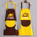 apron Sleeveless apron waterproof Korean version PVC Household cleaning Average size HYFS508 public yes like a breath of fresh air