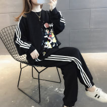 Fashion suit Autumn of 2019 Average size Blue black 18-25 years old Chevensie XFX191954 Other 100% Pure e-commerce (online only)