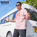T-shirt Fashion City Pink routine 4XL 5XL 6XL 7XL 2XL 3XL GxxH Short sleeve Crew neck easy Other leisure summer Cotton 100% Large size routine tide other Summer 2020 other cotton other Fashion brand Pure e-commerce (online only) More than 95%