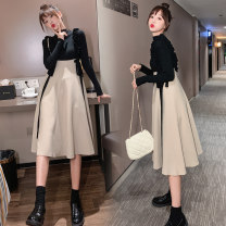 sweater Winter 2016 M,L,XL,XXL Strap skirt, suit Long sleeves other 95% and above Sweet Other / other