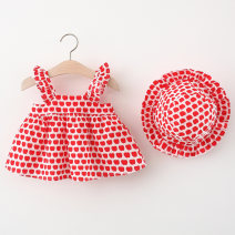 Dress Red, yellow female Other / other 66cm,73cm,80cm,85cm,90cm,95cm,100cm Cotton 95% polyester 5% summer Sweet Skirt / vest Fruits and Vegetables cotton Princess Dress Q21030206 Class A 12 months, 6 months, 9 months, 18 months, 2 years, 3 years, 4 years Chinese Mainland Hubei province