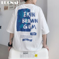 T-shirt Youth fashion Black (pre-sale 10 days) white (pre-sale 10 days) blue (pre-sale 10 days) routine M L XL 2XL 3XL 4XL 5XL Rosnay  Short sleeve Crew neck easy Other leisure summer LN20B-XY2230 Cotton 100% youth routine tide Spring 2021 other other washing Pure e-commerce (online only)