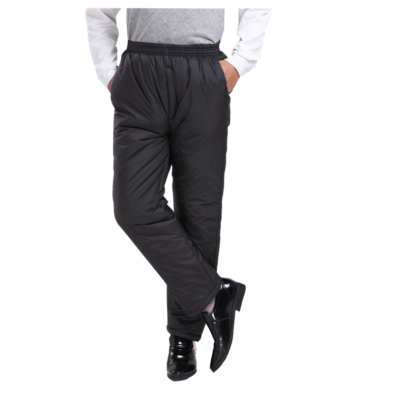 cotton-padded trousers other Other / other XL 2'2-2'5 170 below XXL 2'4-2'7 175 inside XXL 2'6-3'180 below Black - light, thick and warm 0102 trousers Polyester 100% leisure time Basic public old age Solid color polyester fiber Washed cotton other More than 95%