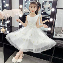 Dress White, apricot, silver female Other / other 110cm,120cm,130cm,140cm,150cm,160cm Cotton 85% polyester 15% summer princess Skirt / vest Solid color other Princess Dress Class B 7, 8, 14, 13, 11, 10, 9, 12 Chinese Mainland