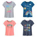 T-shirt Light gray letters, dark gray butterfly, pink cactus, blue rainbow Other / other 4-5A/110CM,6-6X/120CM,7-8A/130CM,10-12A/145CM,10-12P/150CM,14-16A/160CM,14-16P/165CM,18A/170CM,18P/170CM female other other Cotton 60% other 40% Chinese Mainland