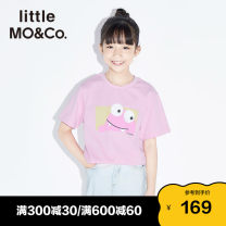 T-shirt Little MO&CO. 110/52 110/56 120/56 130/60 140/64 150/68 155/72 neutral summer Short sleeve Crew neck Europe and America There are models in the real shooting nothing Pure cotton (100% cotton content) Cartoon animation Cotton 100% Class B Summer 2020 Chinese Mainland Guangdong Province
